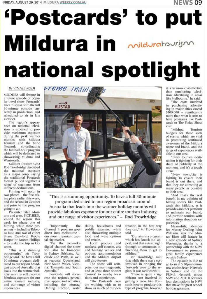 Mildura Weekly August 29 2014