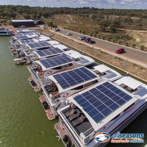 Solar powered and luxury All Seasons Houseboats