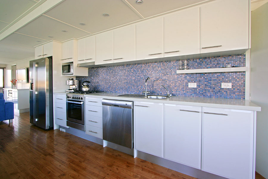 Absolute Indulgence Kitchen - All Seasons Houseboats Mildura