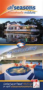 All Seasons Houseboats brochure