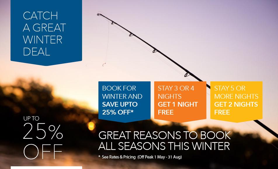 All Seasons Houseboats Winter Sun Deal 2016