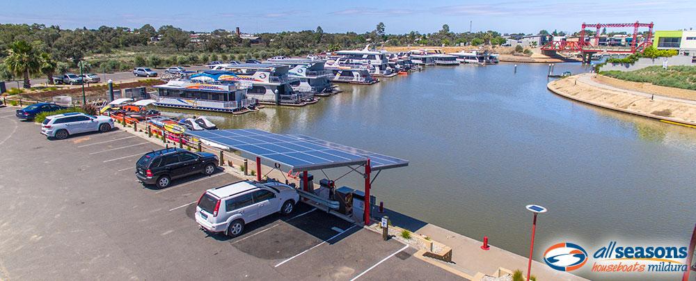 All Seasons Houseboats - Secure Mildura Marina